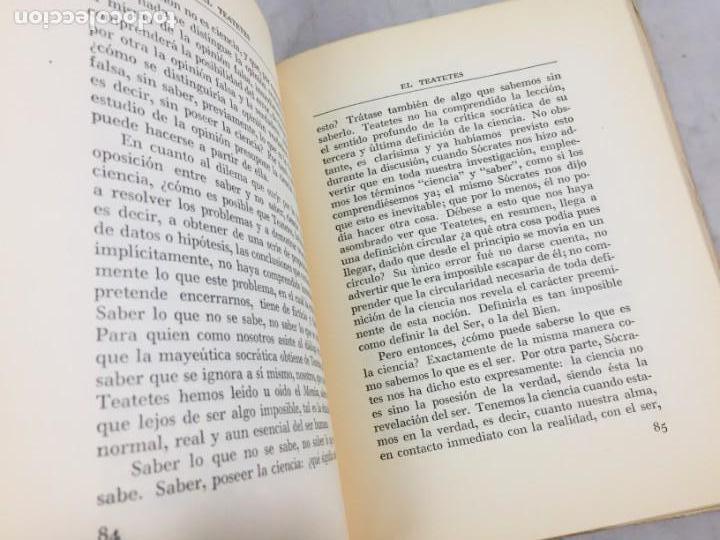 Libros de segunda mano: INTRODUCCION A LA LECTURA DE PLATON ALEXANDRE KOYRE Editorial Cajica Puebla México 1947 - Foto 5 - 150839566