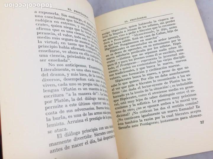 Libros de segunda mano: INTRODUCCION A LA LECTURA DE PLATON ALEXANDRE KOYRE Editorial Cajica Puebla México 1947 - Foto 9 - 150839566