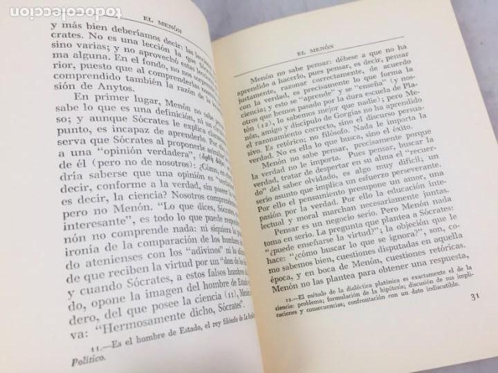 Libros de segunda mano: INTRODUCCION A LA LECTURA DE PLATON ALEXANDRE KOYRE Editorial Cajica Puebla México 1947 - Foto 10 - 150839566