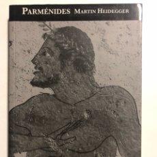 Gebrauchte Bücher - HEIDEGGER, Martin. Parménides. Madrid: Akal, 2005. 8vo. 223 pp. Rústica con solapas. Perfecto estado - 151153350