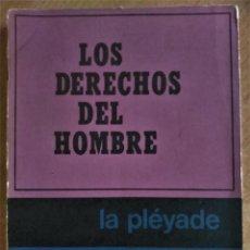 Libros de segunda mano: LOS DERECHOS DEL HOMBRE, MARITAIN, 1972. Lote 152300846