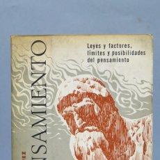 Libros de segunda mano: EL PENSAMIENTO. EMILIO MIRA LOPEZ. ED. ARGENTINA. Lote 152471958