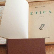 Libros de segunda mano: ÉTICA. NUEVO ENSAYO DE FUNDAMENTACIÓN DE UN PERSONALISMO ÉTICO. SCHELER (MAX). Lote 153335654
