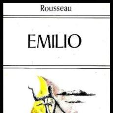 Libros de segunda mano: B2126 - ROUSSEAU. EMILIO. FILOSOFIA. PENSAMIENTO. EDITORIAL EDAF.. Lote 153690190