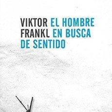 Libros de segunda mano - El hombre en busca de sentido. - Frankl, Viktor Emil. - 155198100