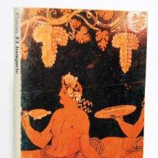 Libros de segunda mano: EL BANQUETE - PLATÓN. ALIANZA EDITORIAL. Lote 155457562