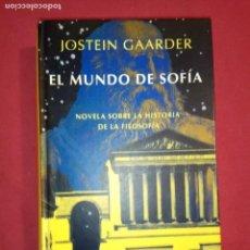 Libros de segunda mano: EL MUNDO DE SOFÍA - JOSTEIN GAARDER.. Lote 155682210