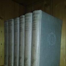 Libros de segunda mano: JOSE ORTEGA Y GASSET, OBRAS COMPLETAS, 6 TOMOS I II III IV V VI, REVISTA DE OCCIDENTE. Lote 155698954