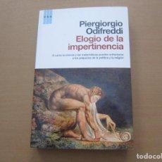 Libros de segunda mano: ELOGIO DE LA IMPERTINENCIA. Lote 155778722