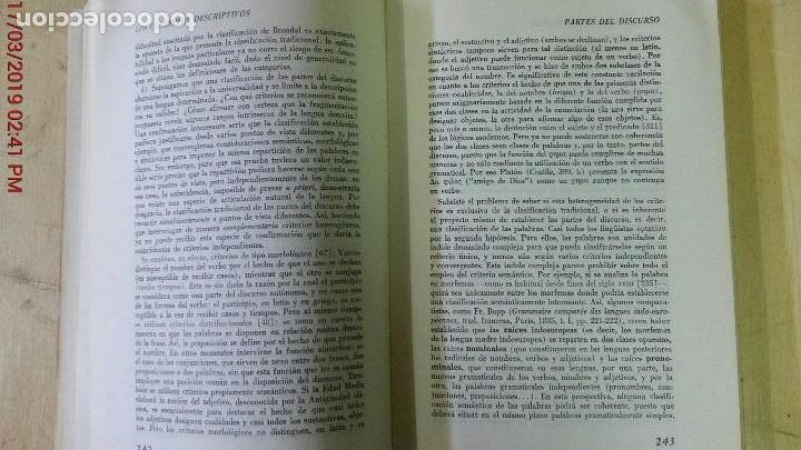 Libros de segunda mano: DICCIONARIO ENCICLOPÉDICO DE LAS CIENCIAS DEL LENGUAJE-OSWALD DUCROT-TRVETAN TODOROV-AÑO 1974 - Foto 7 - 155856290