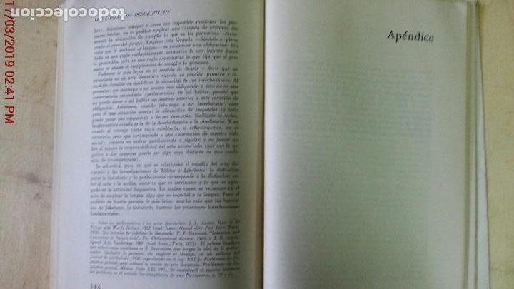 Libros de segunda mano: DICCIONARIO ENCICLOPÉDICO DE LAS CIENCIAS DEL LENGUAJE-OSWALD DUCROT-TRVETAN TODOROV-AÑO 1974 - Foto 8 - 155856290