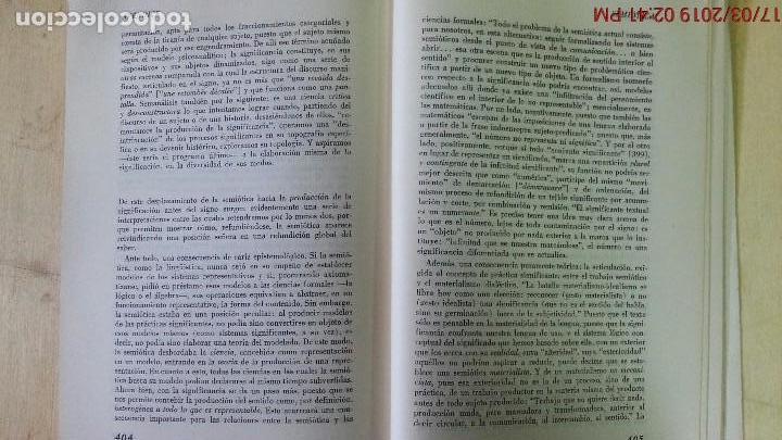 Libros de segunda mano: DICCIONARIO ENCICLOPÉDICO DE LAS CIENCIAS DEL LENGUAJE-OSWALD DUCROT-TRVETAN TODOROV-AÑO 1974 - Foto 9 - 155856290