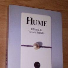 Libros de segunda mano: DAVID HUME - ANTOLOGÍA - PENÍNSULA, 1986. Lote 156637666