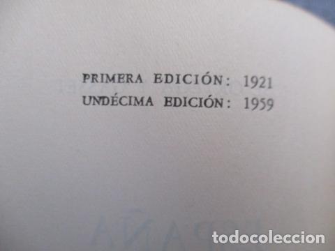 Libros de segunda mano: ESPAÑA INVERTEBRADA -- JOSE ORTEGA Y GASSET -- REVISTA DE OCCIDENTE - 1959 - Foto 10 - 156766978