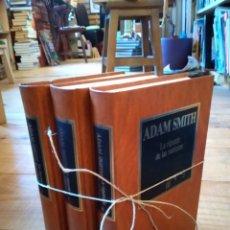 Libros de segunda mano: LA RIQUEZA DE LAS NACIONES. ADAM SMITH. Lote 156883622