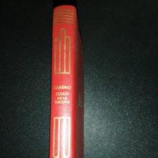 Libros de segunda mano: ERASMO, ELOGIO DE LA LOCURA . Lote 156921882