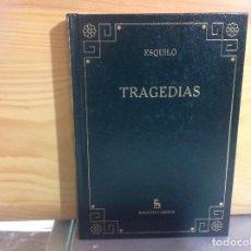 Libros de segunda mano: ESQUILO - TRAGEDIAS - GREDOS, 2006 BIBLIOTECA BÁSICA GREDOS. Lote 176618355