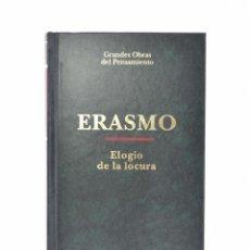 Libros de segunda mano: ELOGIO DE LA LOCURA - ERASMO. Lote 158627761