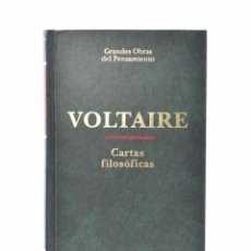 Libros de segunda mano: CARTAS FILOSÓFICAS - VOLTAIRE. Lote 158627765