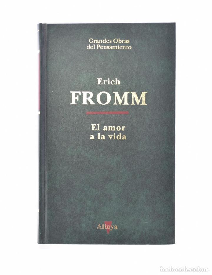 EL AMOR A LA VIDA - FROMM, ERICH (Libros de Segunda Mano - Pensamiento - Filosofía)