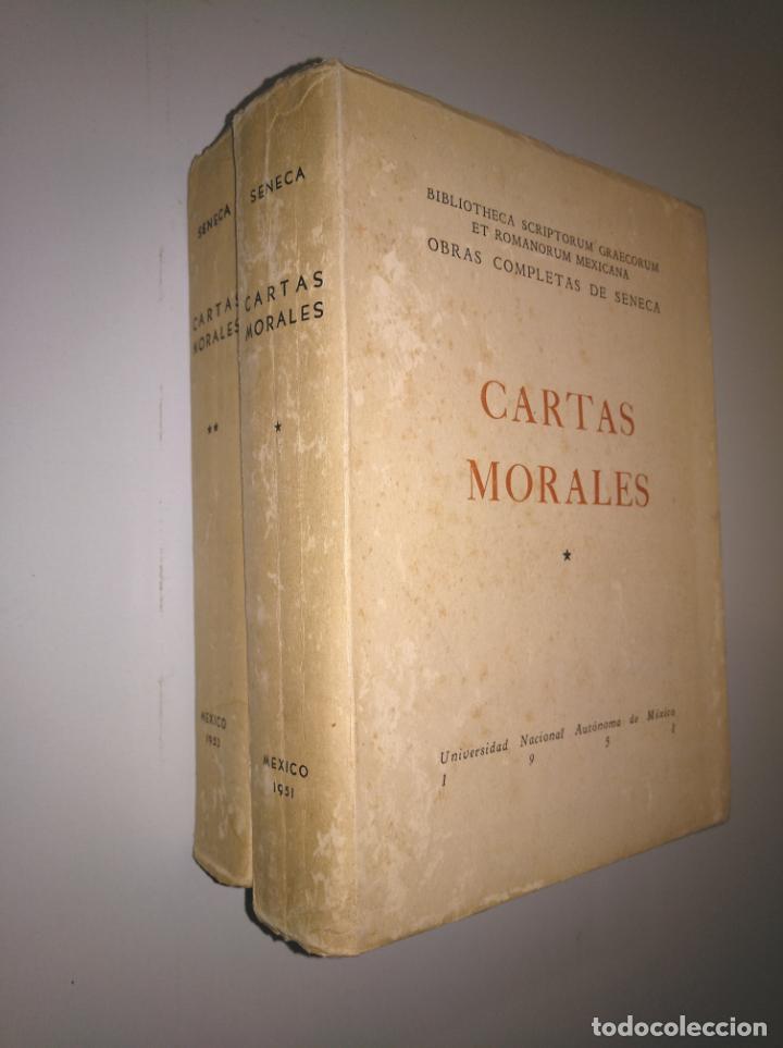 CARTAS MORALES. OBRAS COMPLETAS. LUCIO ANNEO SENECA. 1951. 2 VOLUMENES. TOMO I Y II. TDK379 (Libros de Segunda Mano - Pensamiento - Filosofía)