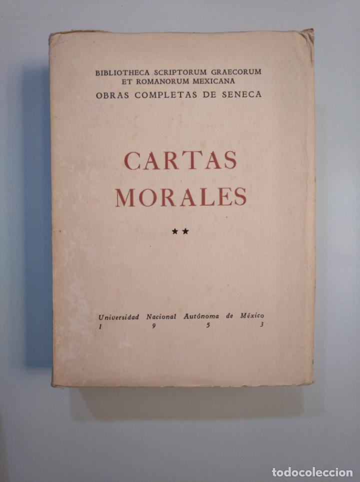 Libros de segunda mano: CARTAS MORALES. OBRAS COMPLETAS. LUCIO ANNEO SENECA. 1951. 2 VOLUMENES. TOMO I Y II. TDK379 - Foto 3 - 158681530