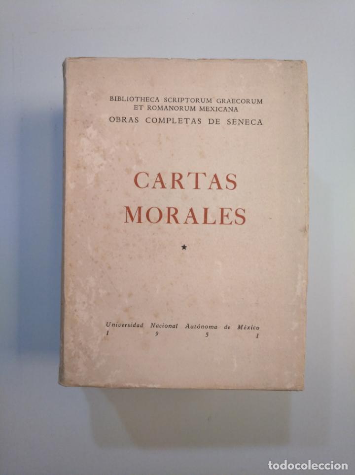 Libros de segunda mano: CARTAS MORALES. OBRAS COMPLETAS. LUCIO ANNEO SENECA. 1951. 2 VOLUMENES. TOMO I Y II. TDK379 - Foto 4 - 158681530