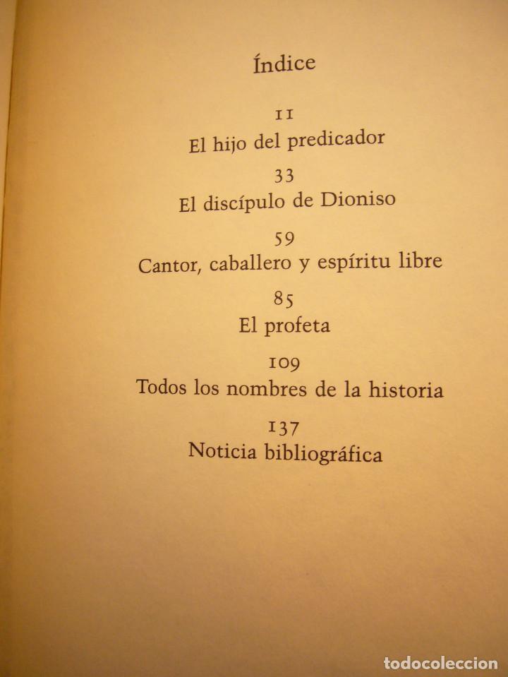 Libros de segunda mano: MIGUEL MOREY: FRIEDRICH NIETZSCHE. UNA BIOGRAFÍA (CÍRCULO DE LECTORES, 1994) MUY BUEN ESTADO - Foto 6 - 158943658