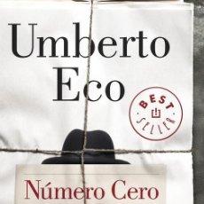 Libros de segunda mano: NÚMERO CERO. - ECO, UMBERTO.. Lote 159004648