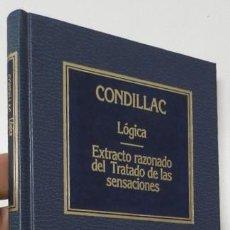 Gebrauchte Bücher - LÓGICA / EXTRACTO RAZONADO DEL TRATADO DE LAS SENSACIONES - CONDILLAC - 159498946