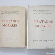 Libros de segunda mano - Lucio Anneo Séneca y José M. Gallegos Rocafull. Tratados morales. México: Universidad Autonoma, 1944 - 160847010