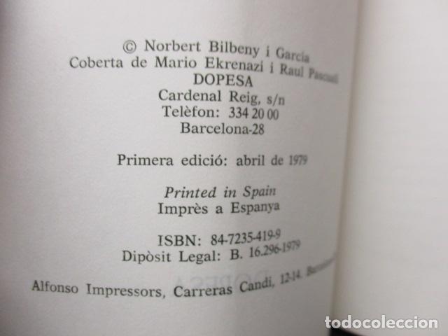 Libros de segunda mano: JOAN CREXELLS EN LA FILOSOFIA DEL NOUCENTS NORBERT BILBENY - Foto 11 - 160940894