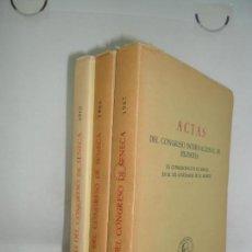 Libros de segunda mano: ACTAS DEL CONGRESO INTERNACIONAL DE FILOSOFÍA, EN CONMEMORACIÓN DE SÉNECA, 3 TOMOS, ED. AVGVSTINVUS. Lote 161141022