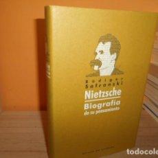 Libros de segunda mano: NIETZSCHE,BIOGRAFIA DE SU PENSAMIENTO / RUDIGER SAFRANSKI. Lote 162170986