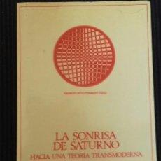 Libros de segunda mano: LA SONRISA DE SATURNO. ROSA MARIA RODRIGUEZ MAGDA. ANTHROPOS 1989.. Lote 162646242