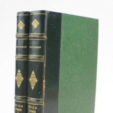 Libros de segunda mano: ÉTICA, PERSONALISMO ÉTICO, MAX SCHELER, 2 TOMOS, REVISTA OCCIDENTE, MADRID. 23X17,5CM. Lote 162689918
