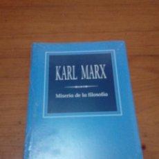 Libros de segunda mano: KARL MARX. MISERIA DE LA FILOSOFÍA. BIBLIOTECA DE FILOSOFÍA. FOLIO NUEVO PRECINTADO. EST12B4 . Lote 162788894