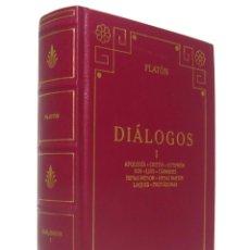 Libros de segunda mano: 2000 - PLATÓN: DIÁLOGOS. I. APOLOGÍA. CRITÓN. EUTIFRÓN. ION. LISIS - BIBLIOTECA BÁSICA GREDOS. Lote 163038070