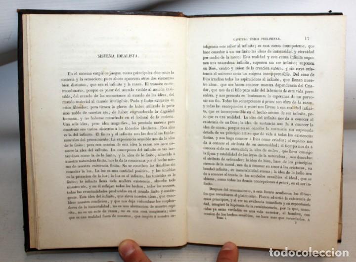 Libros de segunda mano: SISTEMAS FILOSOFICOS MODERNOS-PATRICIO AZCÁRATE-1861-4 TOMOS. - Foto 5 - 163804462