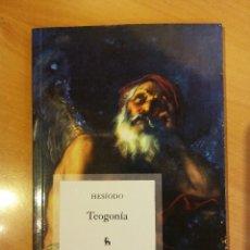 Libros de segunda mano: TEOGONIA. ED: GREDOS. Lote 164621566