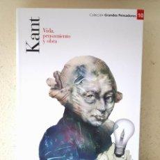 Libri di seconda mano: KANT: VIDA, PENSAMIENTO Y OBRA / PLANETA DEAGOSTINI 2007. Lote 164902382