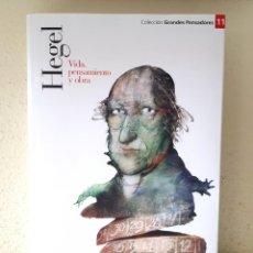 Libri di seconda mano: HEGEL: VIDA, PENSAMIENTO Y OBRA / PLANETA DEAGOSTINI 2007. Lote 164902706