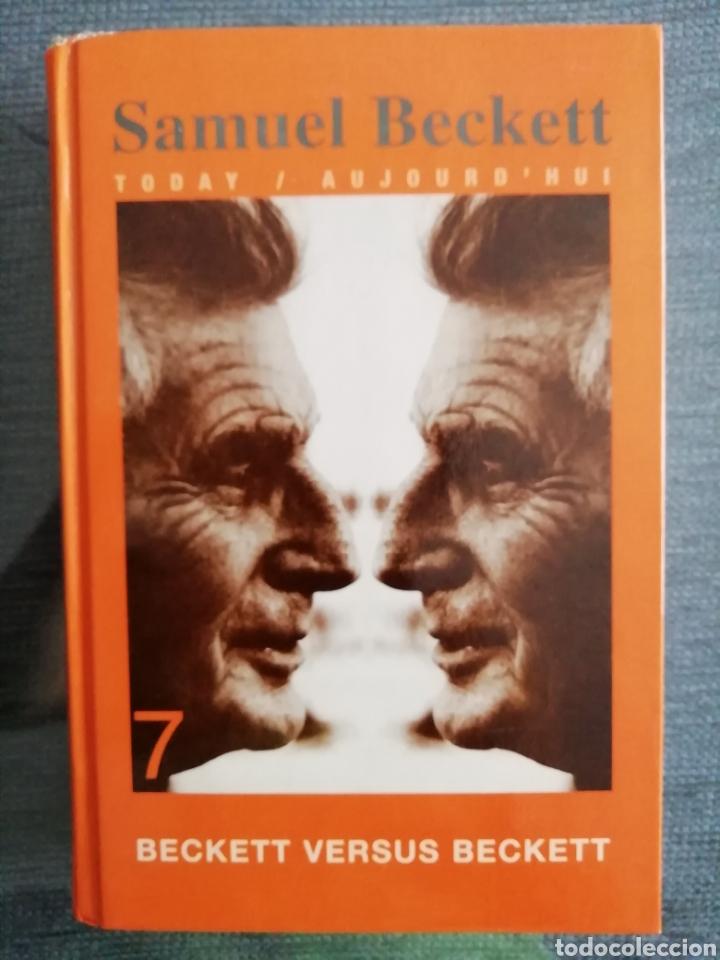 BECKETT VERSUS BECKETT. RAREZA. VV.AA. RODOPI, AMSTERDAM-ATLANTA, GA 1998. (Libros de Segunda Mano - Pensamiento - Filosofía)