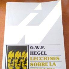 Libros de segunda mano: LECCIONES SOBRE LA HISTORIA DE LA FILOSOFÍA III - G.W.F. HEGEL. Lote 164941106