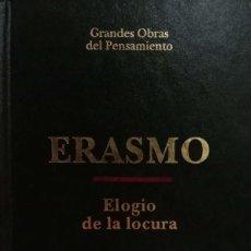 Libros de segunda mano: ELOGIO DE LA LOCURA. Lote 165224274