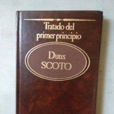 Libros de segunda mano: TRATADO DEL PRIMER PRINCIPIO DUNS SCOTO. Lote 165266962