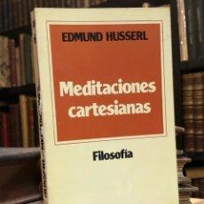 Gebrauchte Bücher - Meditaciones cartesianas. HUSSERL, Edmund. Madrid: Ediciones Paulinas, 1979. 8vo. 276 pp. - 165116622