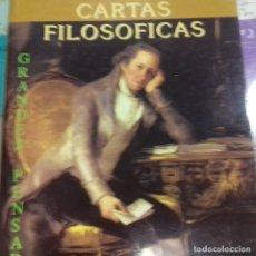 Libros de segunda mano: CARTAS FILOSÓFICAS VOLTAIRE . Lote 165537158