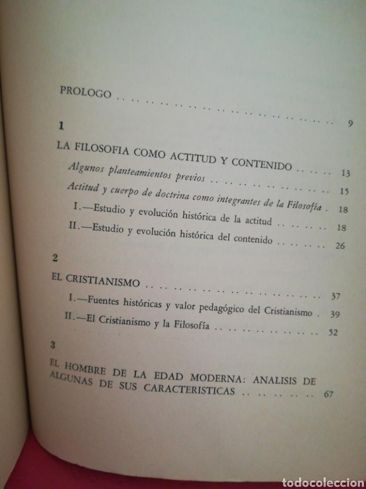 Libros de segunda mano: 7 vertientes para el discurrir filosófico - Alejandro F. Togores Perera - Caracas, 1971 - Foto 6 - 165611724