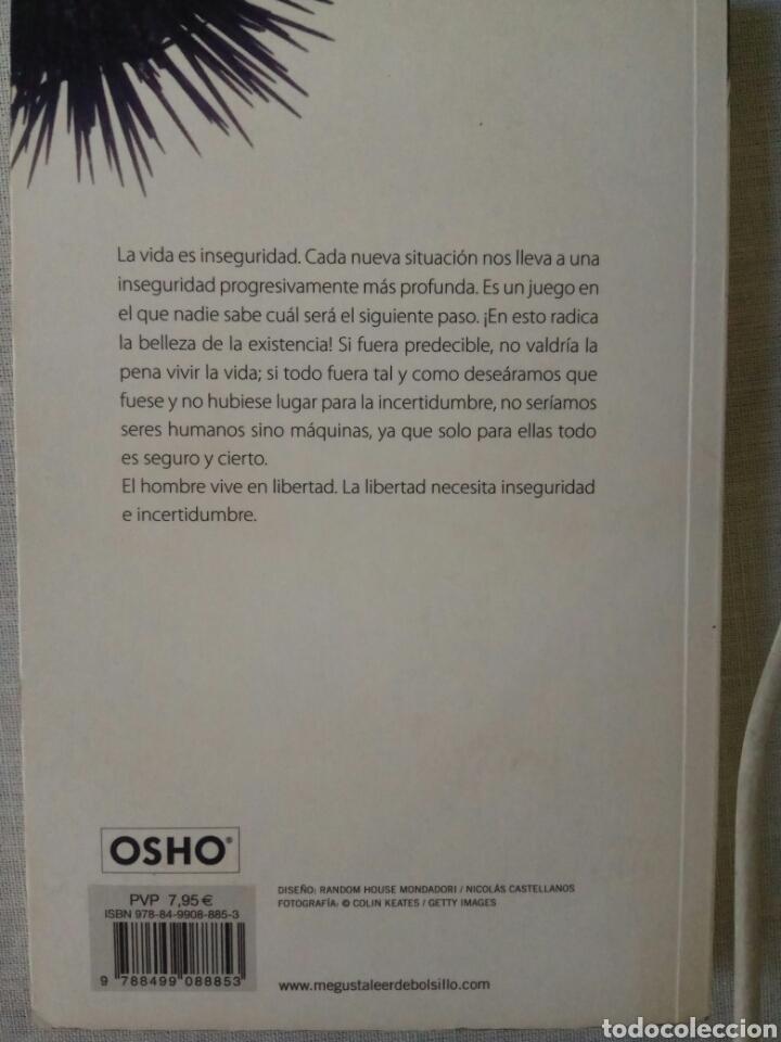 Libros de segunda mano: Miedo: entender y aceptar las inseguridades de la vida. Osho. Editorial Debolsillo. 2011 - Foto 2 - 165864464